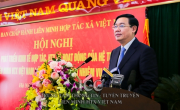 The Deputy Prime Minister Vuong Dinh Hue attended and directed the evaluation conference of the cooperation economy and cooperatives