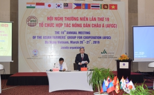 The Opening Ceremony of the 19th Annual Meeting of the Asian Farmers' Group for Cooperation (AFGC) in Da Nang