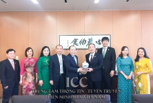 The working visit of the delegation headed by Dr. Nguyen Ngoc Bao, President of Vietnam Cooperative Alliance (VCA) to Japan