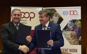 The ILO and the ICA reaffirm vows of friendship and collaboration by signing a new MoU