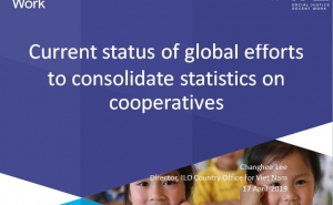 ILO: Current status of global efforts to consolidate statistics on cooperatives