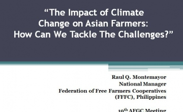 Submitted to the 19th Annual meeting of the Asian Farmers Group for Cooperation by Philippines