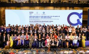 Diễn đàn Pháp lý Liên minh HTX Quốc tế khu vực châu Á - Thái Bình Dương thành công tốt đẹp