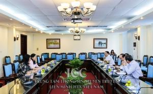 Chủ tịch Nguyễn Ngọc Bảo làm việc với Hội Liên hiệp Phụ nữ Việt Nam về hỗ trợ phát triển HTX do phụ nữ làm chủ