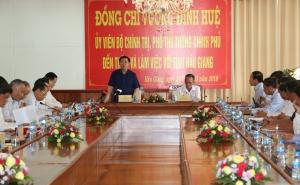 Phó Thủ tướng: Hậu Giang cần đẩy mạnh truyền thông về HTX kiểu mới