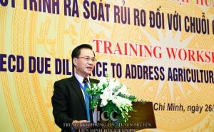 """Hội thảo tập huấn """"Quy trình rà soát rủi ro đối với chuỗi cung ứng nông sản"""""""