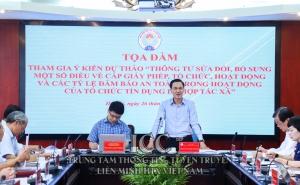 Liên minh HTX Việt Nam luôn đồng hành cùng hệ thống Quỹ tín dụng nhân dân