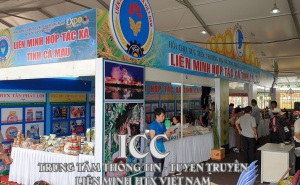 Hội chợ Xúc tiến thương mại HTX năm 2019 chính thức mở cửa bán và giới thiệu sản phẩm