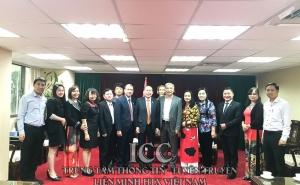 Đoàn công tác VCA làm việc với Văn phòng Kinh tế Văn hóa Việt Nam tại Đài Bắc (Trung Quốc)