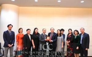 Chủ tịch Nguyễn Ngọc Bảo cùng đoàn công tác làm việc với các tổ chức HTX tại Nhật Bản
