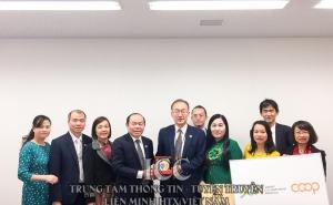 Chủ tịch Nguyễn Ngọc Bảo cùng đoàn công tác làm việc tại Nhật Bản