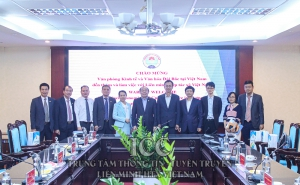 VCA làm việc với Văn phòng Kinh tế và Văn hóa Đài Bắc tại Việt Nam