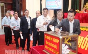 Liên minh HTX tỉnh Ninh Bình phát động ủng hộ miền Trung khắc phục hậu quả thiên tai