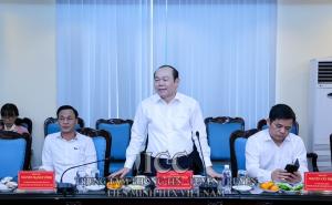 Đảng đoàn Liên minh HTX Việt Nam tổ chức Hội nghị về công tác chuẩn bị Đại hội