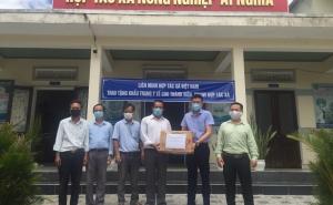Liên minh Hợp tác xã Việt Nam chung tay giúp Quảng Nam đẩy lùi Covid-19
