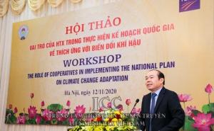 Vai trò của HTX trong thực hiện kế hoạch quốc gia về thích ứng với biến đổi khí hậu