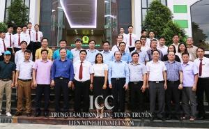 Khảo sát HTX sản xuất kinh doanh chè Tân Lập- Mộc Châu và Quỹ TDND Mộc Châu