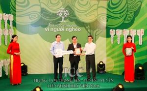 Liên minh Hợp tác xã Việt Nam cùng cả nước chung tay vì người nghèo năm 2020