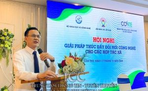 Hội nghị giải pháp thúc đẩy đổi mới công nghệ cho hợp tác xã