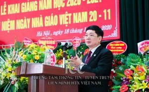 Kỷ niệm Ngày nhà giáo Việt Nam và khai giảng năm học mới 2020-2021