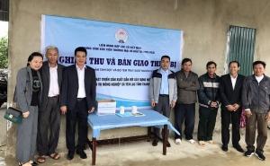 VCA: Hỗ trợ HTX dịch vụ nông nghiệp xã Yên Lạc (Thanh Hóa) phát triển sản xuất kinh doanh gắn với chuỗi giá trị
