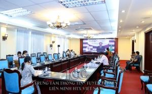 VCA tham dự họp trực tuyến về Vai trò của hợp tác xã nông nghiệp hậu đại dịch Covid-19