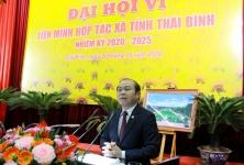 Đại hội Liên minh HTX tỉnh Thái Bình lần thứ VI: Hợp tác- Đổi mới- Phát triển- Hiệu quả