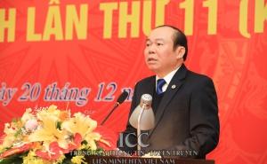 Chủ tịch Nguyễn Ngọc Bảo chủ trì Hội nghị Ban Chấp hành Liên minh HTX Việt Nam lần thứ 11, khóa V