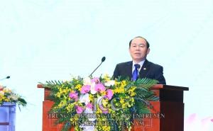 Đồng chí Nguyễn Ngọc Bảo, Bí thư Đảng đoàn tái đắc cử Chủ tịch Liên minh HTX Việt Nam khóa VI, nhiệm kỳ 2020- 2025