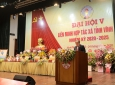 Chủ tịch Nguyễn Ngọc Bảo tham dự Đại hội Liên minh HTX tỉnh Vĩnh Phúc khóa V, nhiệm kỳ 2020 – 2025