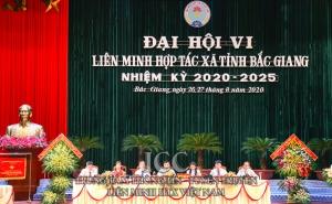 Kết quả Đại hội Liên minh HTX tỉnh Bắc Giang lần thứ VI, nhiệm kỳ 2020 - 2025