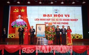 Đại hội Liên minh HTX và doanh nghiệp thành phố Hải Phòng lần thứ 6: Phát huy vai trò nòng cốt trong phát triển kinh tế tập thể