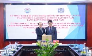 ILO chúc mừng công ước 105 nhằm xóa bỏ lao động cưỡng bức tại Việt Nam
