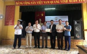 VCA hỗ trợ thiết bị, máy móc sản xuất kinh doanh cho HTX dịch vụ nông nghiệp La Sơn, Hà Nam