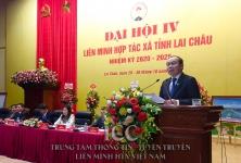 Lai Châu: Phấn đấu có trên 70% số xã, phường, thị trấn toàn tỉnh có HTX