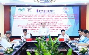 Hội nghị đánh giá kết quả giai đoạn 1-2020 của dự án Nâng cao năng lực cho VCA trong phát triển Lâm nghiệp và tham gia chương trình khí hậu quốc gia
