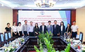 VCA làm việc cùng Nonghyup Bank về Đề án thành lập Trung tâm hợp tác hỗ trợ khởi nghiệp HTX Việt Nam - Hàn Quốc.