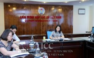 """VCA tham gia buổi tọa đàm trực tuyến về """"Tác động của biện pháp giãn cách xã hội đối với khu vực HTX các nước ASEAN"""""""