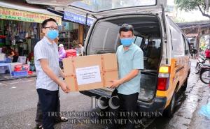 Liên minh Hợp tác xã Việt Nam tặng 7000 khẩu trang cho huyện Quế Sơn, tỉnh Quảng Nam
