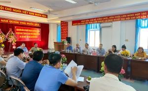 Chủ tịch Nguyễn Ngọc Bảo cùng đoàn công tác làm việc với Liên minh HTX tỉnh Phú Yên