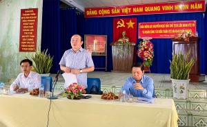 Đoàn công tác làm việc với 2 HTX tại Phú Yên