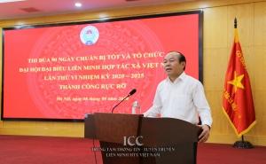 VCA: Phát động thi đua 90 ngày chuẩn bị tốt và tổ chức Đại hội đại biểu Liên minh HTX Việt Nam lần thứ VI, nhiệm kỳ 2020 - 2025