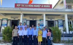Vai trò của HTX nông nghiệp Ái Nghĩa trong xây dựng sản phẩm OCOP và liên kết theo chuỗi giá trị sản phẩm