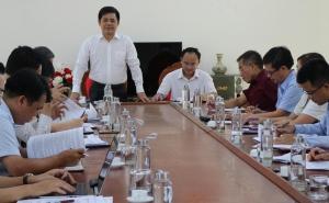 Phó Chủ tịch Nguyễn Văn Thịnh làm việc với Liên minh HTX tỉnh Hòa Bình về công tác Đại hội