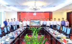 Liên minh HTX Việt Nam làm việc với UBND tỉnh Lai Châu về tình hình phát triển KTTT, HTX