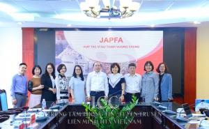 Chủ tịch Nguyễn Ngọc Bảo tiếp và làm việc với Công ty TNHH Japfa Comfeed Việt Nam về hợp tác phát triển thị trường chăn nuôi cho các HTX