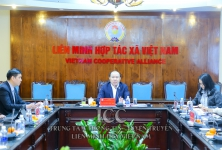 VCA tham dự cuộc họp trực tuyến Đại hội đồng Liên minh HTX Quốc tế khu vực châu Á - Thái Bình Dương lần thứ 14
