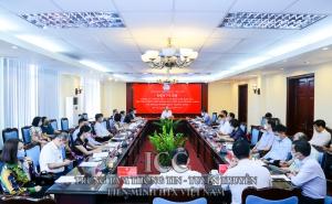 Chủ tịch Nguyễn Ngọc Bảo chủ trì hội nghị giao ban đánh giá công tác tháng 4 và triển khai nhiệm vụ công tác tháng 5/2021