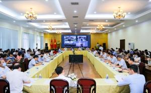 Phóng sự ảnh: Hội nghị sơ kết công tác 6 tháng đầu năm 2021, triển khai nhiệm vụ tháng 7 và những tháng cuối năm 2021