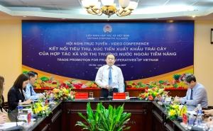 """Phóng sự ảnh: Hội nghị """"Kết nối tiêu thụ, xúc tiến xuất khẩu trái cây của hợp tác xã với các thị trường nước ngoài tiềm năng"""""""